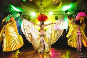 Pokazy samby, tancerki samby